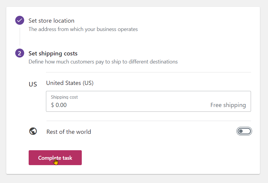 How To Set Up a New WooCommerce Store Step 6