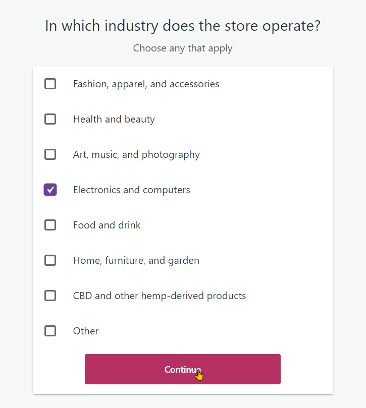 Setting up your website and WooCommerce step 10