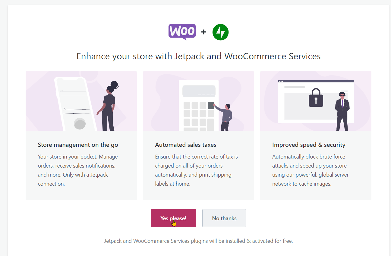 Setting up your website and WooCommerce step 14