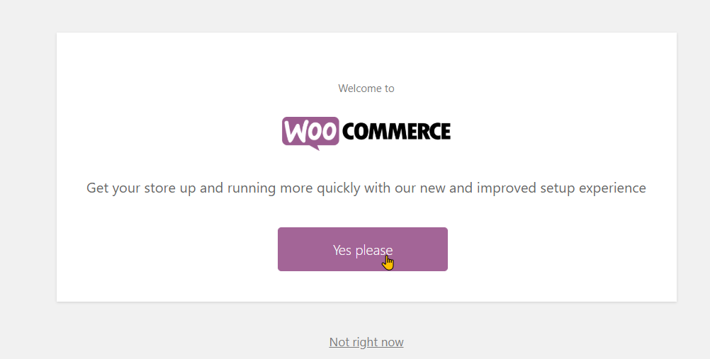 Setting up your website and WooCommerce step 8