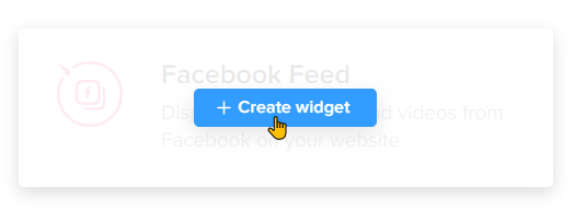 How To Create a Facebook Feed Widget Step 3