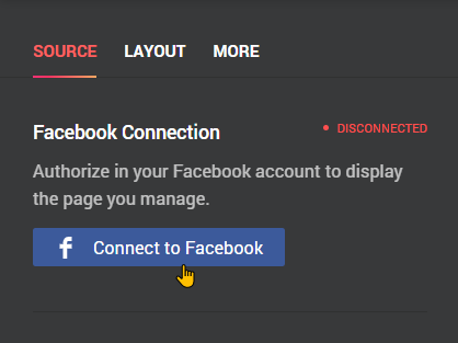 How To Create a Facebook Feed Widget Step 5