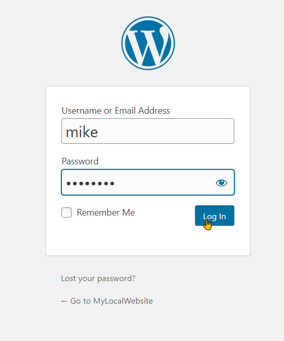 Configure WordPress On Your Local Web Stack Step 5b