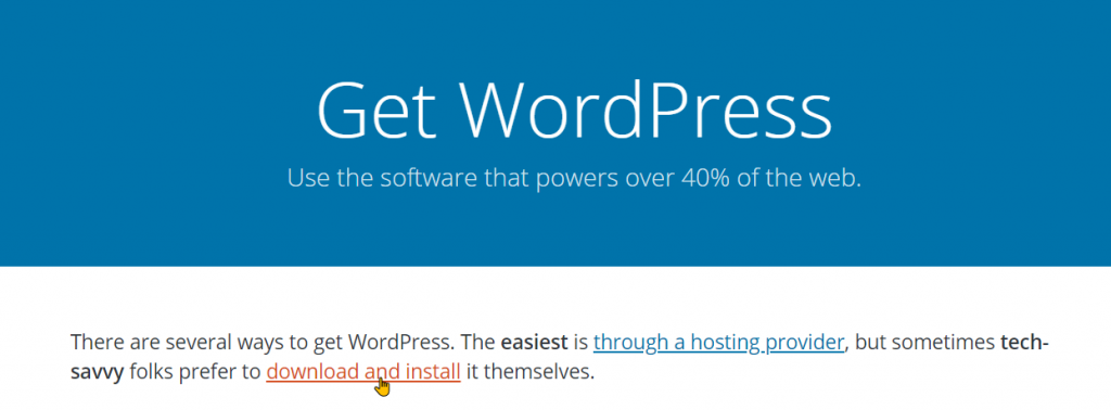 Download and Install WordPress On WampServer Step 3