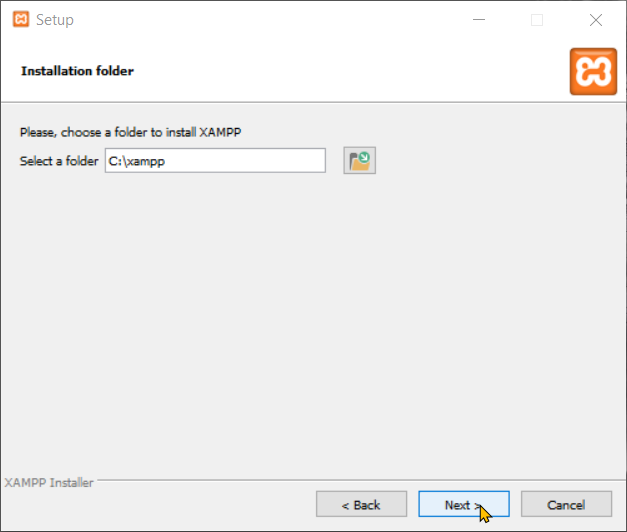 Download and Install XAMPP Step 5