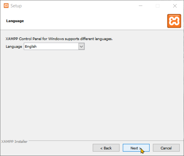 Download and Install XAMPP Step 6