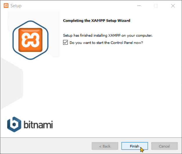 Download And Install XAMPP step-4