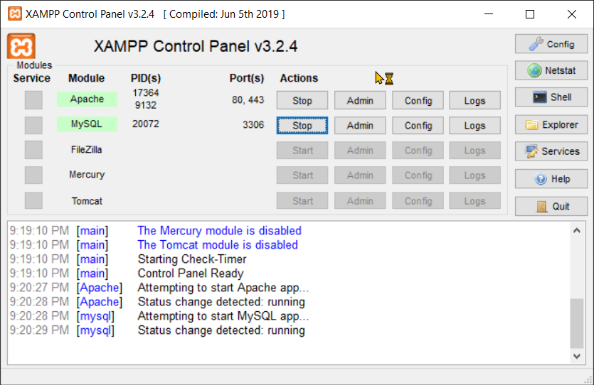 Download and Install XAMPP Step 9