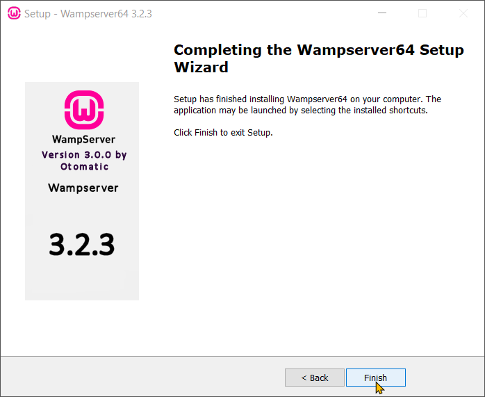 Download and Install WampServer Step 12