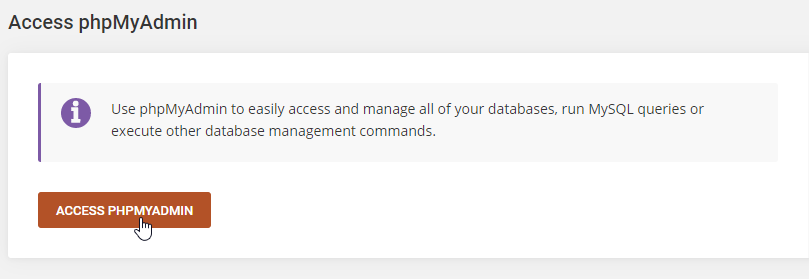 How To Manually Restore A WordPress Database Step 8